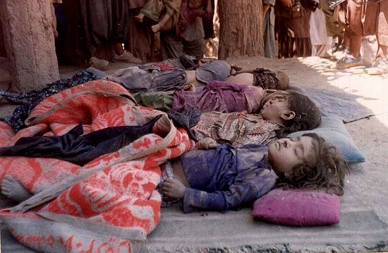 afghan children killed by us nato bombing
