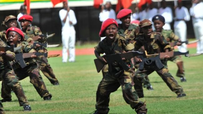 child soldiers speech Countries that employ child soldiers in their armed forces are barred  to a  speech during a ceremony presenting new uniforms for the alp at.