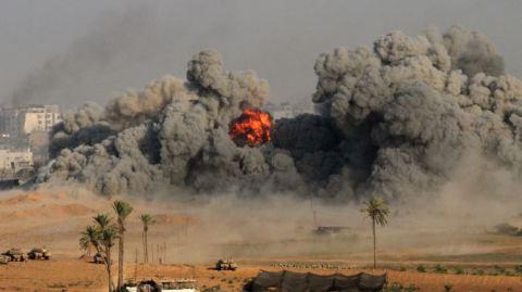 372852_Israel-Gaza-Smoke