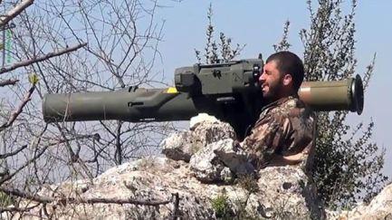 392462_Syria-militant-missile