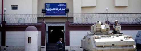 Sinai Al Arish police sta copie