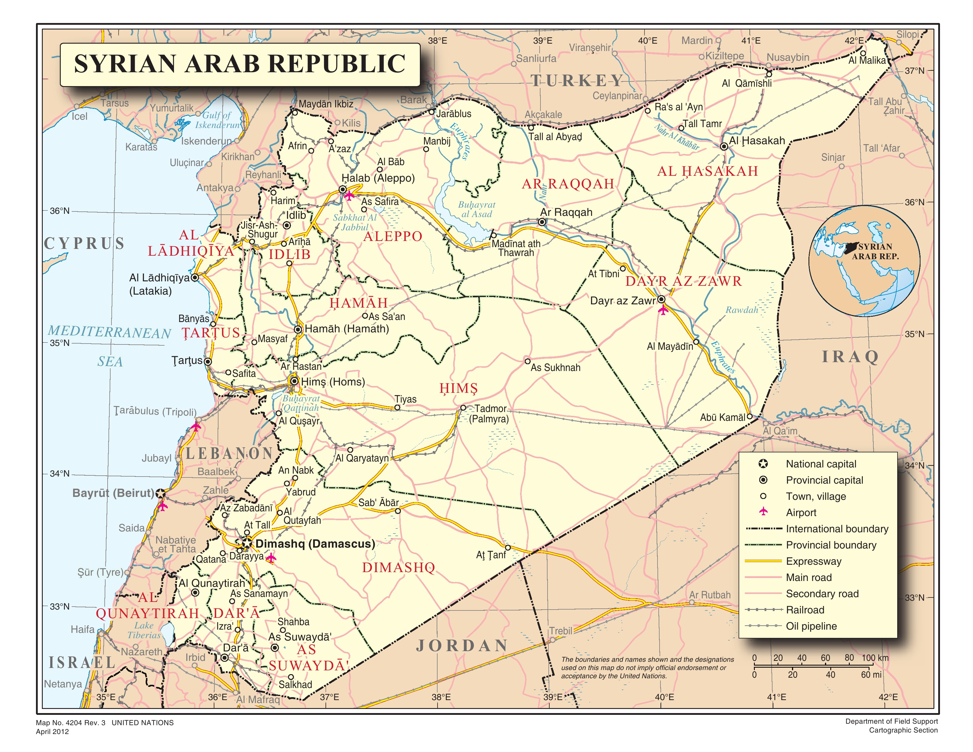 after the paris macre the evil axis of us allies map of syrian arab republic