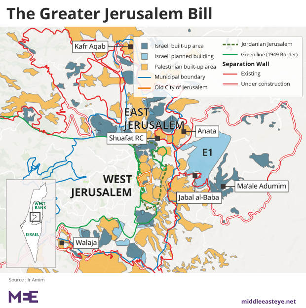 How israel is cleansing palestinians from greater jewish jerusalem although few palestinians in jerusalem have taken or been allowed israeli citizenship and almost none vote in municipal elections israel fears their gumiabroncs Choice Image