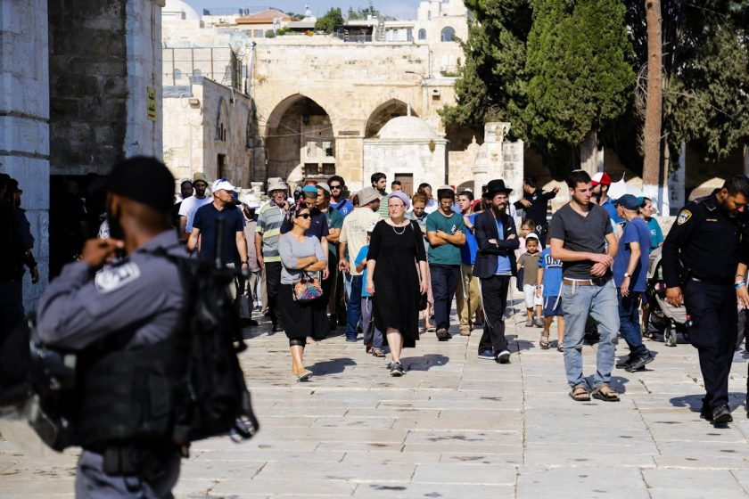 In Israel the Push to Destroy Jerusalem's Iconic Al-Aqsa Mosque Goes
